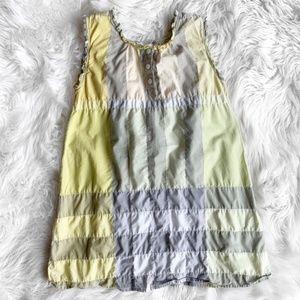 Burberry Plaid Checked Smock Dress I1392